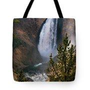 Yellowstone Grand Canyon Falls Tote Bag