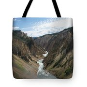 Yellowstone Grand Canyon Tote Bag