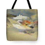 Yellowstone, Hot Springs, July 21, 1892 Tote Bag