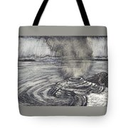 Yellowstone Lake Tote Bag