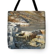 Yellowstone Mineral Features 3 Tote Bag