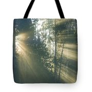 Yellowstone Morning Tote Bag