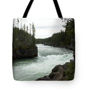 Yellowstone River Tote Bag