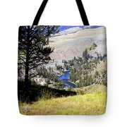 Yellowstone River Vista Tote Bag