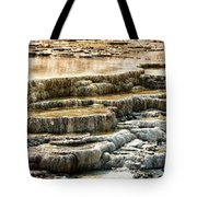 Yellowstone Rock Formation Tote Bag