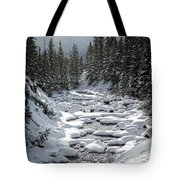 Yellowstone -  Soda Butte Creek Tote Bag