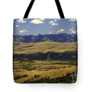 Yellowstone Vista Tote Bag