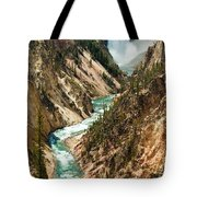 Yellowstone Waterfalls Tote Bag
