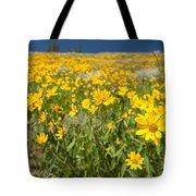 Yellowstone Wildflower Tote Bag