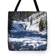 Yellowstone Winter One Tote Bag