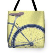 Yelow Bike Tote Bag