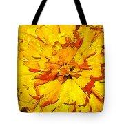 Yelow Tulip Tote Bag