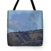 Yes Baby, Angels Do Make Shadows Tote Bag by John King