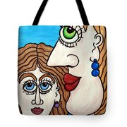 Yes, Mother... - Oui, Maman... Tote Bag