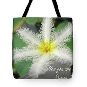 Yes You Are A Pure Shining Star Tote Bag