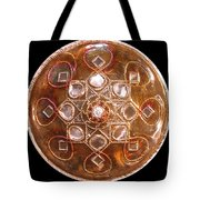 Yesirah Copper Lightmandala Tote Bag