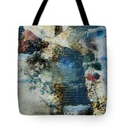 Yesterday And Today Panel 2 Tote Bag