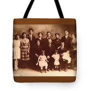 Yesteryears-grandfather Philip And Our Family Tote Bag