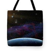 Yet Seen Places Tote Bag