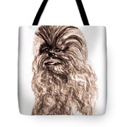 Yeti Has The Final Word Tote Bag