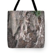 Yew Tree Roots Tote Bag