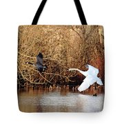 Yikes - Catching Up Tote Bag