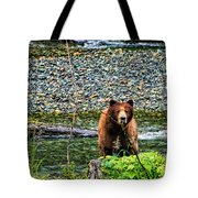 Yikes, It's A Grizzly Tote Bag