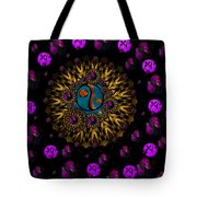 Yin And Yang Collage Tote Bag