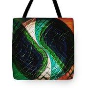 Yin Yang Abstract Tote Bag