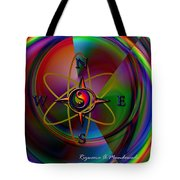 Yin Yang Directions Tote Bag