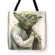 Yoda Portrait Tote Bag