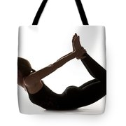 Yoga Bow Pose Tote Bag