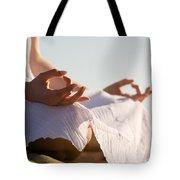 Yoga Tote Bag by Kati Molin