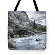 Yoho River At Takakkaw Falls Tote Bag