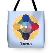 Yoma Text Tote Bag