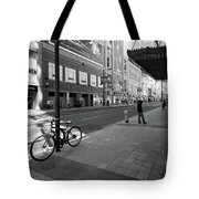 Yonge And Queen In Toronto Tote Bag