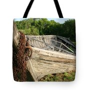York Boat - Fort Garry Tote Bag