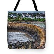 York Breakwater Barry Island Tote Bag