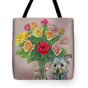 Yorkey Rose Tote Bag