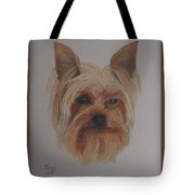 Pickles The Yorkie Tote Bag