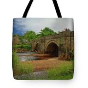 Yorkshire Bridge - P4a16015 Tote Bag