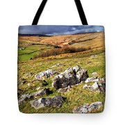 Yorkshire Dales Limestone Countryside Tote Bag