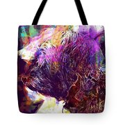 Yorkshire Puppy Domestic Animal  Tote Bag