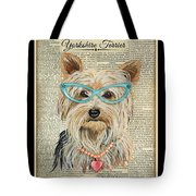 Yorkshire Terrier-jp3856 Tote Bag
