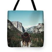 Yosemite Awe Tote Bag