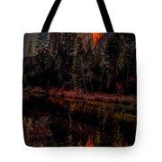 Yosemite Firefall 2015 Tote Bag