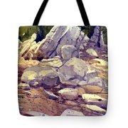 Yosemite Granite Tote Bag