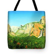 Yosemite National Park Tote Bag by Jerome Stumphauzer