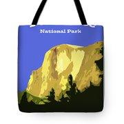 Yosemite Poster Tote Bag