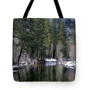 Yosemite Reflections Tote Bag